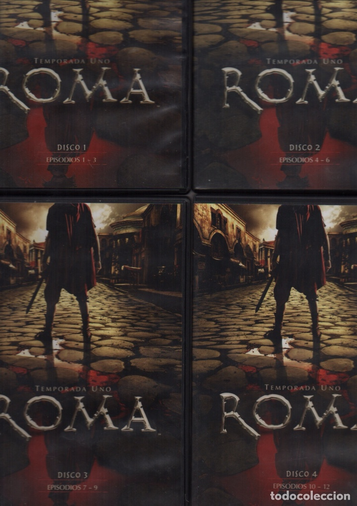 ROMA TEMPORADA UNO (Series TV en DVD)
