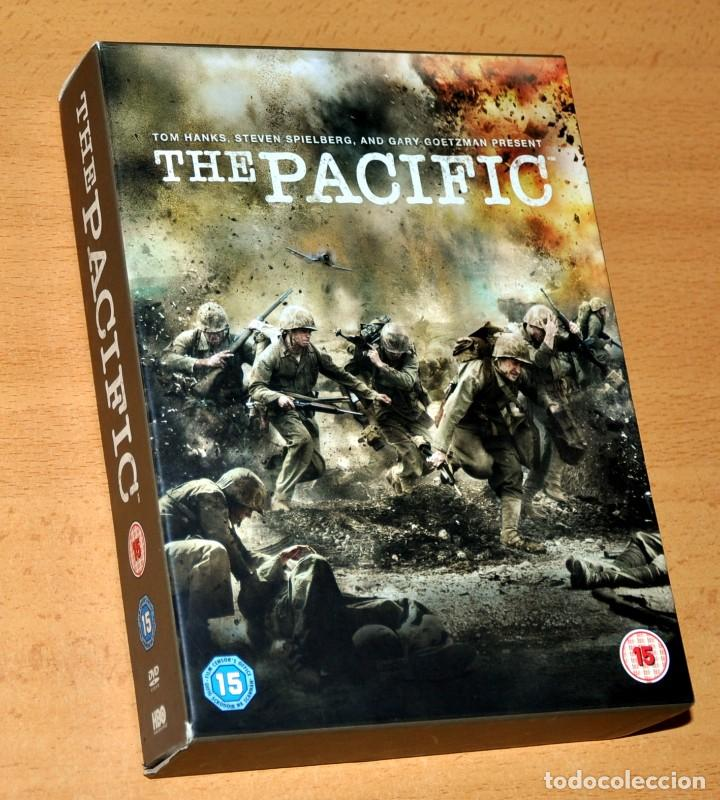 UNA SERIE BÉLICA SOBRE LA 2ª GUERRA MUNDIAL: THE PACIFIC - CAJA DE EDICIÓN 6 DVD - EDITA: HBO - 2010 (Series TV en DVD)