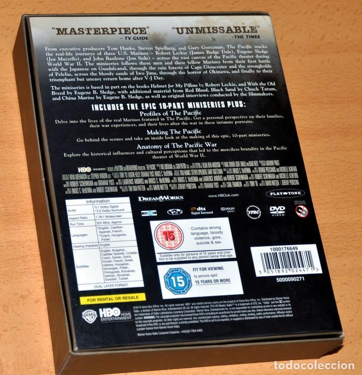 Series de TV: UNA SERIE BÉLICA SOBRE LA 2ª GUERRA MUNDIAL: THE PACIFIC - CAJA DE EDICIÓN 6 DVD - Edita: HBO - 2010 - Foto 2 - 163703842