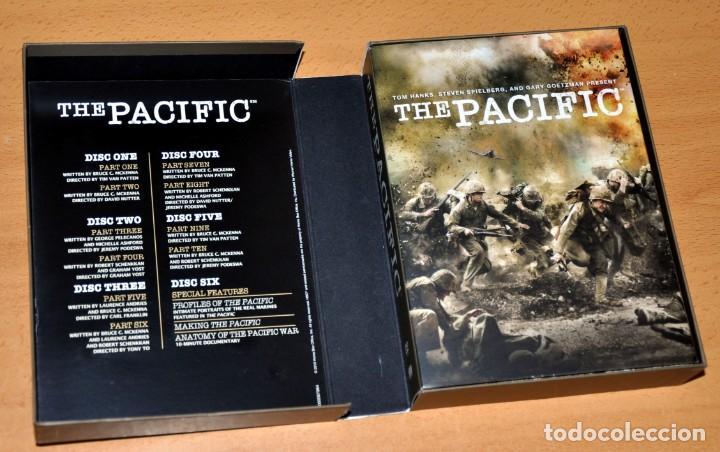 Series de TV: UNA SERIE BÉLICA SOBRE LA 2ª GUERRA MUNDIAL: THE PACIFIC - CAJA DE EDICIÓN 6 DVD - Edita: HBO - 2010 - Foto 3 - 163703842