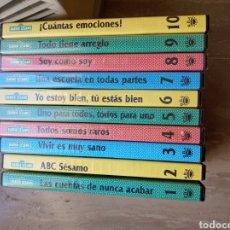 Series de TV: DVD. BARRIO SÉSAMO. 10 DVDS (LA MITAD PRECINTADOS).. Lote 164799218
