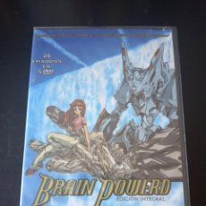 Series de TV: DVD. BRAIN POWERD. ANIME COMPLETO. PRECINTADO.. Lote 165085348