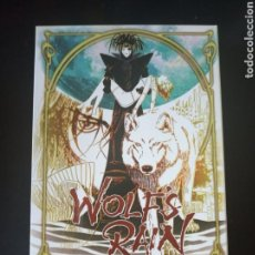 Series de TV: DVD. WOLF'S RAIN. ANIME COMPLETO.. Lote 165087714