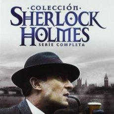 Séries TV: SERIE COMPLETA EN 24 DVDS COLECCION SHERLOCK HOLMES NUEVA A ESTRENAR PRECINTADA. Lote 165260438