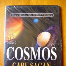 Series de TV: COSMOS DE CARL SAGAN CAPÍTULO 1. EN LA ORILLA DEL OCÉANO CÓSMICO (DVD PRECINTADO). Lote 165340546