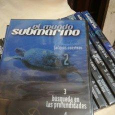 Series de TV: DVD EL MUNDO SUBMARINO DE JACQUES COSTEAU. Lote 165598609