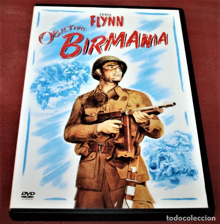 DVD - OBJETIVO BIRMANIA - DIR. RAOUL WALSH (Series TV en DVD)