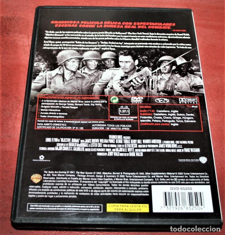 Series de TV: DVD - OBJETIVO BIRMANIA - DIR. RAOUL WALSH - Foto 2 - 165747926