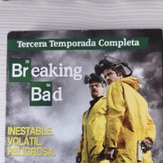Series de TV: BREAKING BAD(TERCERA TEMPORADA COMPLETA) . Lote 165794386