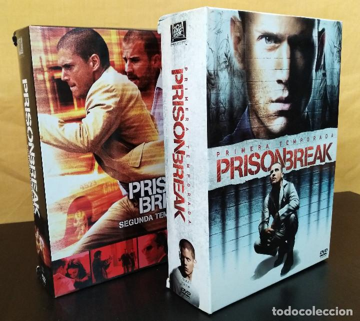 Prison Break Temporadas 1 Y 2 Dvd Serie De Sold Through Direct Sale 165898094