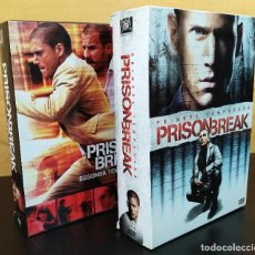 Series de TV: PRISON BREAK TEMPORADAS 1 Y 2 - DVD - SERIE DE TELEVISIÓN - 2 TEMPORADAS. Lote 165898094