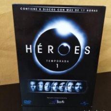 Series de TV: HÉROES - TEMPORADA 1 - 8 DVDS - EDICIÓN COLECCIONISTA Y DESCATALOGADA - PRIMERA TEMPORADA - RARA. Lote 165899126
