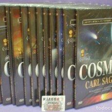 Series de TV: COSMOS - CARL SAGAN - SERIE REMASTERIZADA DIGITALMENTE - 12 DVDS PRECINTADOS. Lote 165955594