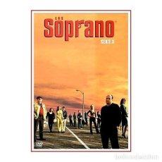 Series de TV: LOS SOPRANO SERIE 3 CAPITULOS DEL 1 AL 13 DVD. Lote 166034546