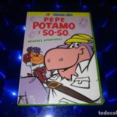 Series de TV: PEPE POTAMO Y SO-SO ( GRANDES AVENTURAS ) - DVD - WARNER KIDS - PRECINTADA - HANNA BARBERA. Lote 166177578
