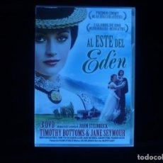 Series de TV: AL ESTE DEL EDEN MINISERIE EN 3 DVD'S - DVD NUEVO PRECINTADO. Lote 191792620