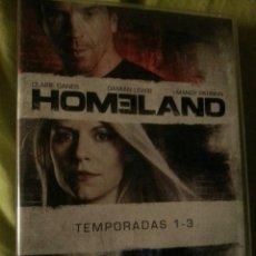 Series de TV: HOMELAND TEMPORADAS 1-3. Lote 166618714
