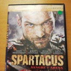 Séries TV: SPARTACUS. SANGRE Y ARENA. LA PRIMERA TEMPORADA COMPLETA (5 DVD). Lote 166803298