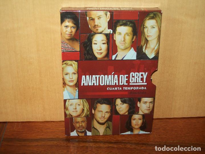 PACK ANATOMIA DE GREY - CUARTA TEMPORADA COMPLETA AMPLIADA - 5 DVDS