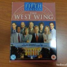 Series de TV: SERIE 'THE WEST WING' 5º TEMPORADA COMPLETA.. Lote 167635564