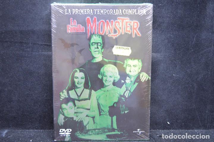 LA FAMILIA MONSTER - DVD LA PRIMERA TEMPORADA COMPLETA (Series TV en DVD)