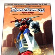 Series de TV: TRANSFORMERS TAKARA VICTORY GEAR BOX 7 (8 DISCOS - EPS 1 - 32 + 6 ESPECIALES) DVD DESCATALOGADA. Lote 168279466
