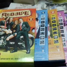 Séries TV: REBELDE. DVD. 1 TEMPORADA COMPLETA. Lote 168294376