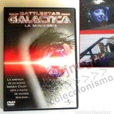 Series de TV: BATTLESTAR GALÁCTICA - LA MINISERIE - DVD CIENCIA FICCIÓN - NAVES ESPACIO MICHAEL RYMER - MINI SERIE. Lote 168456096