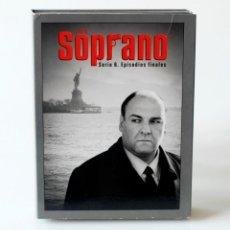 Series de TV: SERIE DE TV LOS SOPRANO HBO. TEMPORADA 6 EPISODIOS FINALES, COMPLETA. 4 DVDS CON FOTOS. Lote 168574568