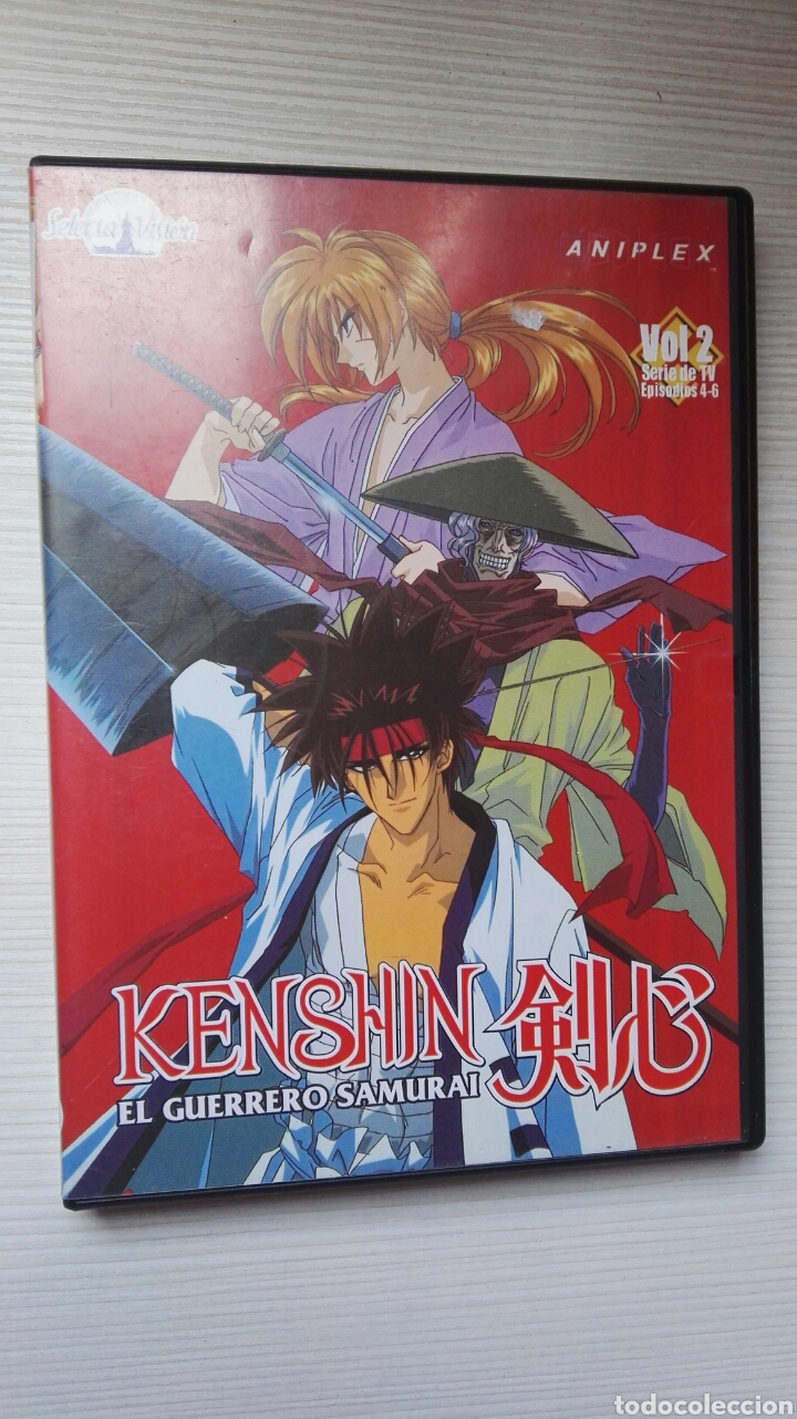 KENSHIN EL GUERRERO SAMURAI VOL. 2 DVD (Series TV en DVD)