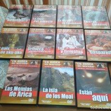 Series de TV: LOTE 11 DVD ORIGINALES EN BUSCA DEL MISTERIO DE JIMÉNEZ DEL OSO Y JUAN JOSÉ BENÍTEZ. Lote 168939664