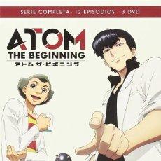 Series de TV: ATOM THE BEGINNING DVD - NUEVO. Lote 169115832