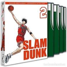 Series de TV: SLAM DUNK BOX 2 DVD - NUEVO. Lote 169116548