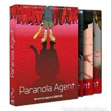Series de TV: PARANOIA AGENT. EDICIÓN DVD - NUEVO. Lote 169258900