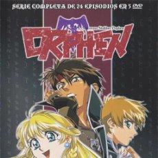 Series de TV: ORPHEN COMPLETA DVD. Lote 169258952