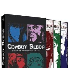 Series de TV: COWBOY BEBOP EDICION REMASTERIZADA DVD - NUEVO. Lote 169373996