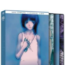 Series de TV: LAIN EDICIÓN INTEGRAL (3 DVD) - NUEVO. Lote 169375088