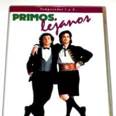 Series de TV: PRIMOS LEJANOS (TEMPORADAS 1 Y 2 - 4 DISCOS) - BRONSON PINCHOT MARK LINN-BAKER DVD DESCATALOGADA. Lote 170096521