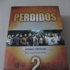 Series de TV: DVD SEGUNDA TEMPORADA LOST PERDIDOS TEMPORADA 2 7 DVDS INCLUYE EXTRAS . Lote 170109464