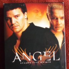 Series de TV: ANGEL QUINTA TEMPORADA, ATS SEASON FIVE. EDICIÓN ORIGINAL USA, SUBS EN CASTELLANO. Lote 170225477