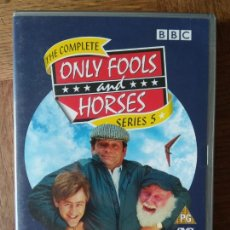 Series de TV: THE COMPLETE ONLY FOOLS AND HORSES SERIES 5, - EN INGLES + EXTRAS - BBC -. Lote 170284348