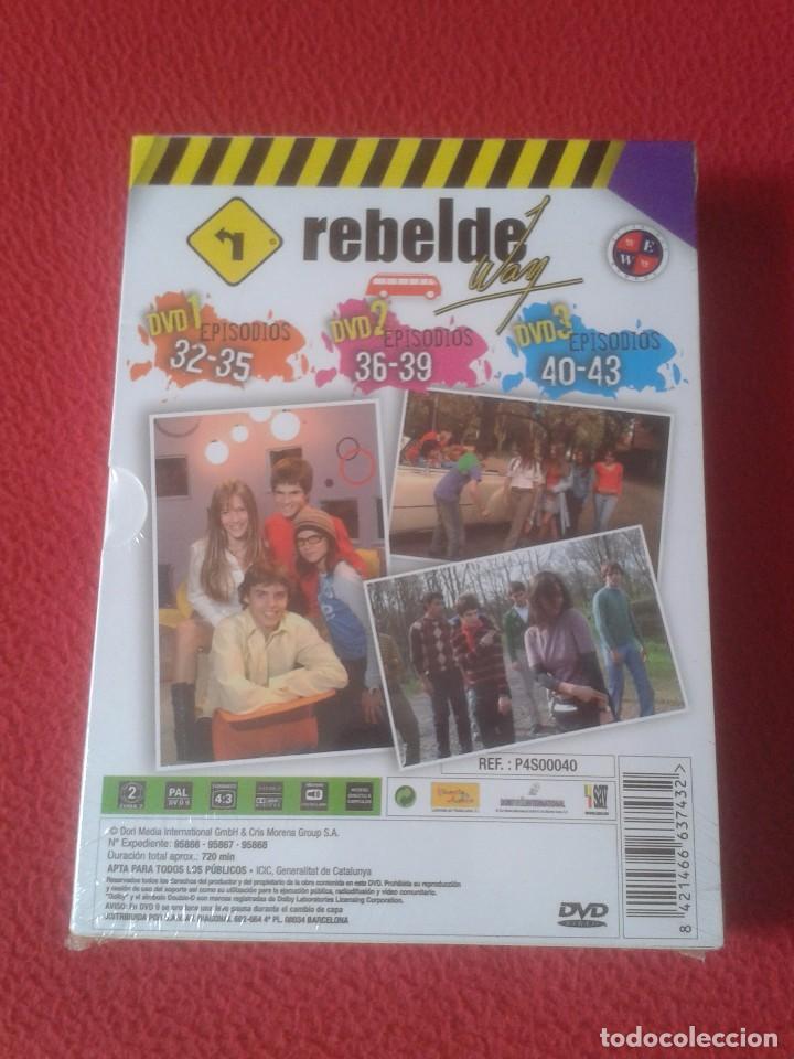 Series de TV: PACK DE 3 DVD DVDS SERIE TV JUVENIL ADOLESCENTE REBELDE WAY EPISODIOS 32 A 43 NUEVO PRECINTADO VER - Foto 2 - 170292378