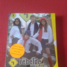 Series de TV: PACK DE 3 DVD DVDS SERIE TV JUVENIL ADOLESCENTE REBELDE WAY EPISODIOS 32 A 43 NUEVO PRECINTADO VER. Lote 170292378