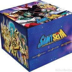 Series de TV: SAINT SEIYA LOS CABALLEROS DEL ZODIACO BOX COLECCIONISTA 30 ANIVERSARIO 24 DVD PRECINTADO. Lote 170390464