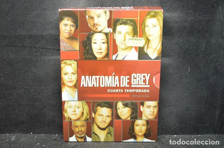 ANATOMÍA DE GREY - LA CUARTA TEMPORADA - DVD