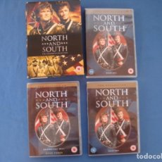 Series de TV: NORTH AND SOUTH THE COMPLETE COLLECTION -EN INGLÉS . Lote 170632705