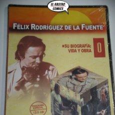 Series de TV: FELIX RODRIGUEZ DE LA FUENTE, SU BIOGRAFÍA, VIDA Y OBRA, PRECINTADO, DVD, D6. Lote 171036634