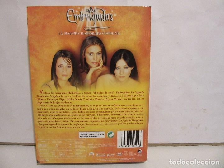 Series de TV: Embrujadas - Segunda Temporada - 6 x DVD - BOXSET - 2005 - Spain - NM+/EX+ - Foto 2 - 171770687