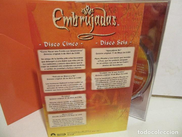 Series de TV: Embrujadas - Segunda Temporada - 6 x DVD - BOXSET - 2005 - Spain - NM+/EX+ - Foto 6 - 171770687