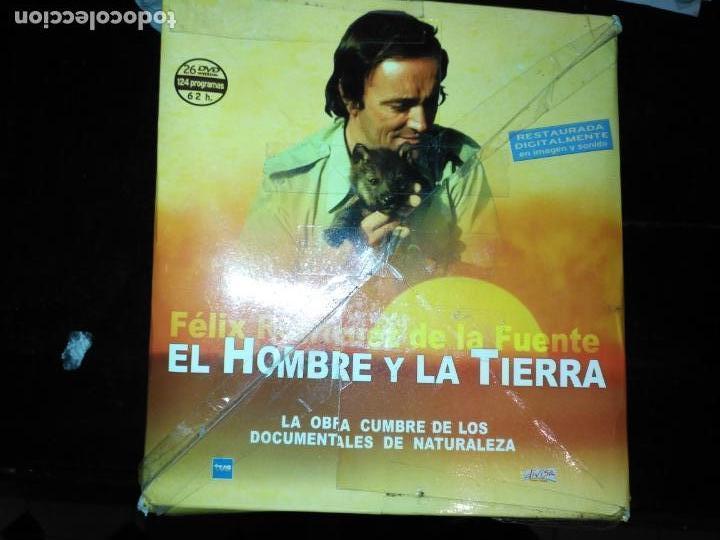 Series de TV: FAUNA IBERICA EL HOMBRE Y LA TIERRA FELIX RODRIGUEZ DE LA FUENTE COLECCION COMPLETA 26 DVD - Foto 2 - 171828398